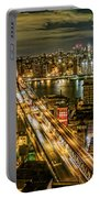Night Skyline Portable Battery Charger