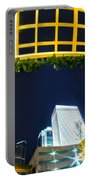 Nightlife Around Charlotte Portable Battery Charger