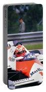 Niki Lauda. 1985 Portuguese Grand Prix Portable Battery Charger