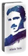 Nikola Tesla Patent Art Electric Arc Lamp Portable Battery Charger