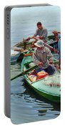 Nile River Fishermen  Portable Battery Charger