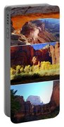 Nine Utah Landmarks Portable Battery Charger by Catherine Sherman