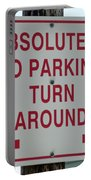No Parking Portable Battery Charger