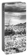 No Place Like Home Bw Palm Springs Desert Hot Springs Portable Battery Charger