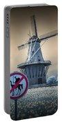 No Tilting At Windmills Portable Battery Charger