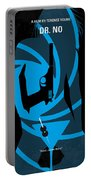No024 My Dr No James Bond Minimal Movie Poster Portable Battery Charger