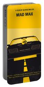 No051 My Mad Max Minimal Movie Poster Portable Battery Charger