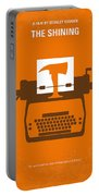 No094 My The Shining Minimal Movie Poster Portable Battery Charger