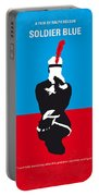 No136 My Soldier Blue Minimal Movie Poster Portable Battery Charger
