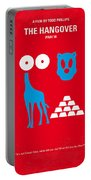 No145 My The Hangover Part 3 Minimal Movie Poster Portable Battery Charger by Chungkong Art