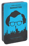 No146 My Manhattan Minimal Movie Poster Portable Battery Charger