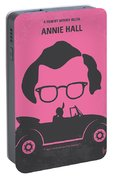 No147 My Annie Hall Minimal Movie Poster Portable Battery Charger