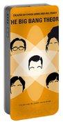 No196 My The Big Bang Theory Minimal Poster Portable Battery Charger