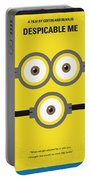 No213 My Despicable Me Minimal Movie Poster Portable Battery Charger