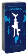 No216 My Sharknado Minimal Movie Poster Portable Battery Charger