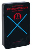 No225 My Star Wars Episode IIi Revenge Of The Sith Minimal Movie Poster Portable Battery Charger