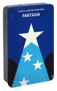 No242 My Fantasia Minimal Movie Poster Portable Battery Charger