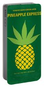 No264 My Pineapple Express Minimal Movie Poster Portable Battery Charger