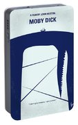 No267 My Moby Dick Minimal Movie Poster Portable Battery Charger