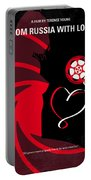No277-007 My From Russia With Love Minimal Movie Poster Portable Battery Charger