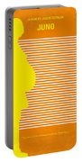 No326 My Juno Minimal Movie Poster Portable Battery Charger