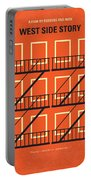 No387 My West Side Story Minimal Movie Poster Portable Battery Charger