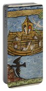 Noahs Ark, 1190 Portable Battery Charger by Getty Research Institute