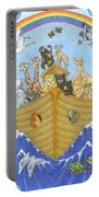 Noah's Ark Portable Battery Charger by Alison Stein