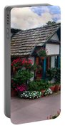 Normandy Inn - Carmel California Portable Battery Charger by Glenn McCarthy Art and Photography