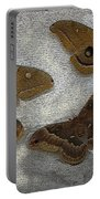 North American Large Moth Collection Portable Battery Charger