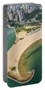 North Avenue Beach And Castaways Restaurant Portable Battery Charger
