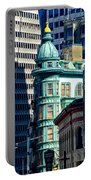 North Beach Victorian - San Francisco Portable Battery Charger