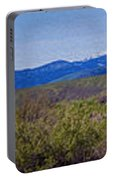 North Cascades Game Range Panorama Portable Battery Charger