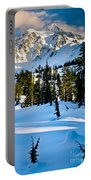 North Cascades Winter Portable Battery Charger
