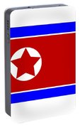 North Korea Flag Portable Battery Charger
