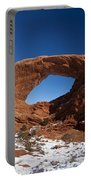 North Window Arches National Park Utah Portable Battery Charger