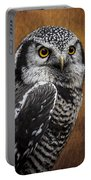 Northern Hawk Owl Portable Battery Charger