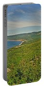 Northern Road Through Cape Breton Highlands Np-ns Portable Battery Charger