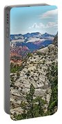 Northgate Peaks Trail From Kolob Terrace Road In Zion National Park-utah Portable Battery Charger