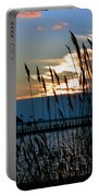 Ocean City Sunset At Northside Park Portable Battery Charger