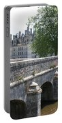 Northwest Facade Of The Chateau De Chambord Portable Battery Charger