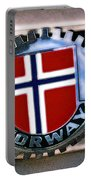 Norway Car Emblem Portable Battery Charger