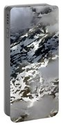 Norwegian Mountains From On High Portable Battery Charger
