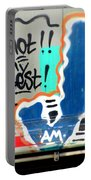 Not My Best Graffiti 1 Portable Battery Charger