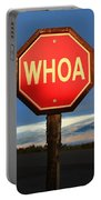 Not Your Ordinary Stop Sign Portable Battery Charger