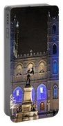 Notre-dame Basilica Of Montreal Portable Battery Charger