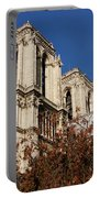 Notre-dame De Paris - French Gothic Elegance In The Heart Of Paris France Portable Battery Charger
