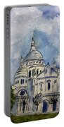 Sacre Coeur In Paris Portable Battery Charger
