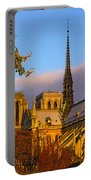 Notre Dame Sunrise Portable Battery Charger
