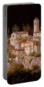 Notte Senza Luna Portable Battery Charger by Guido Borelli